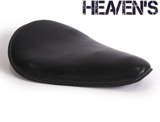 牛本革 ロングノーズフォーム バックサイドアップ スムース ブラック ヘブンズシート(HEAVEN'S)