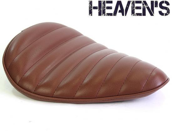 デラックスワイドフォーム バックサイドアップ タックロール ブラウン ヘブンズシート(HEAVEN'S)