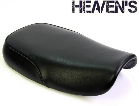 バンバン200(VANVAN) フラットシート ブラック スムース ヘブンズシート(HEAVEN'S)