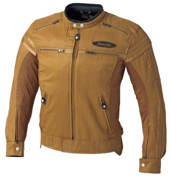 0SYEX-Y3P-C ヴィンテージ・ライダースジャケット キャメル Sサイズ HONDA(ホンダ)