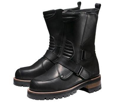 0SYTL-T71-K ハイソールミドルブーツ ブラック/ブラック 24.0cm HONDA(ホンダ)
