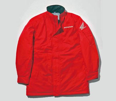 0SYTN-R3F-R テフロンスタッフウォームジャケット レッド Lサイズ HONDA(ホンダ)