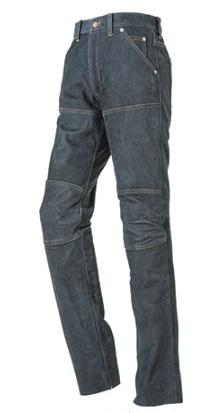 EXPLORER レザージーンズ オールドブラック 32サイズ HONDA(ホンダ)