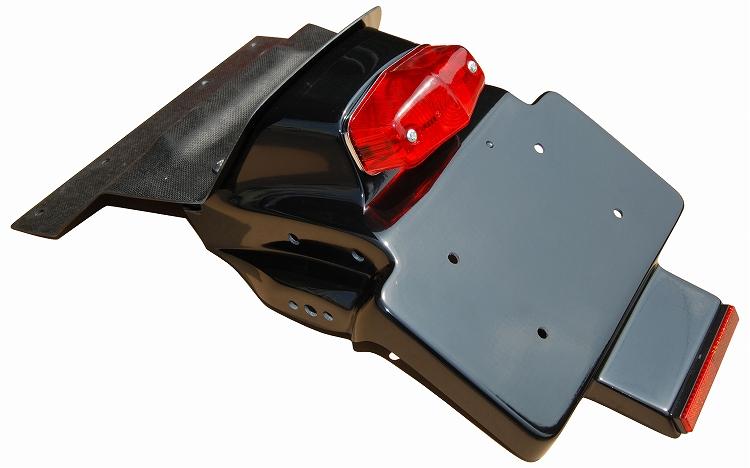 XR1200 黒ゲルコート仕上げ リアフェンダー K&H(ケイアンドエイチ)