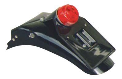 GB250 90年~(4型) ライセンス丸形ランプ付き リアフェンダー キーロックタイプ用 K&H(ケイアンドエイチ)
