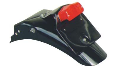 GB250 ~89年 ライセンスルーカスランプ付き リアフェンダー ボルト止めタイプ K&H(ケイアンドエイチ)