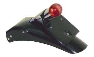 GB250 ~89年 ライセンスキャッツアイランプ付き リアフェンダー ボルト止めタイプ K&H(ケイアンドエイチ)