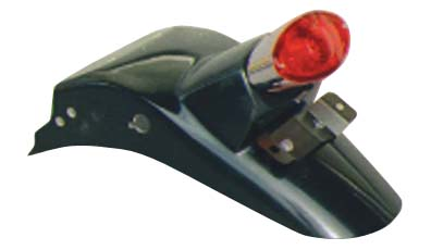 GB250 ~89年 キャッツアイランプ付き リアフェンダー ボルト止めタイプ K&H(ケイアンドエイチ)