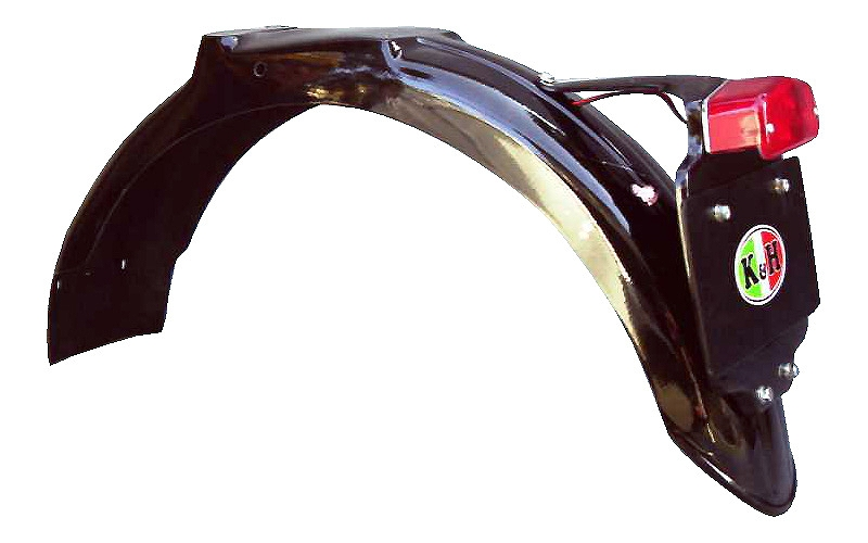 W800 リブ付き リアフェンダー K&H(ケイアンドエイチ)