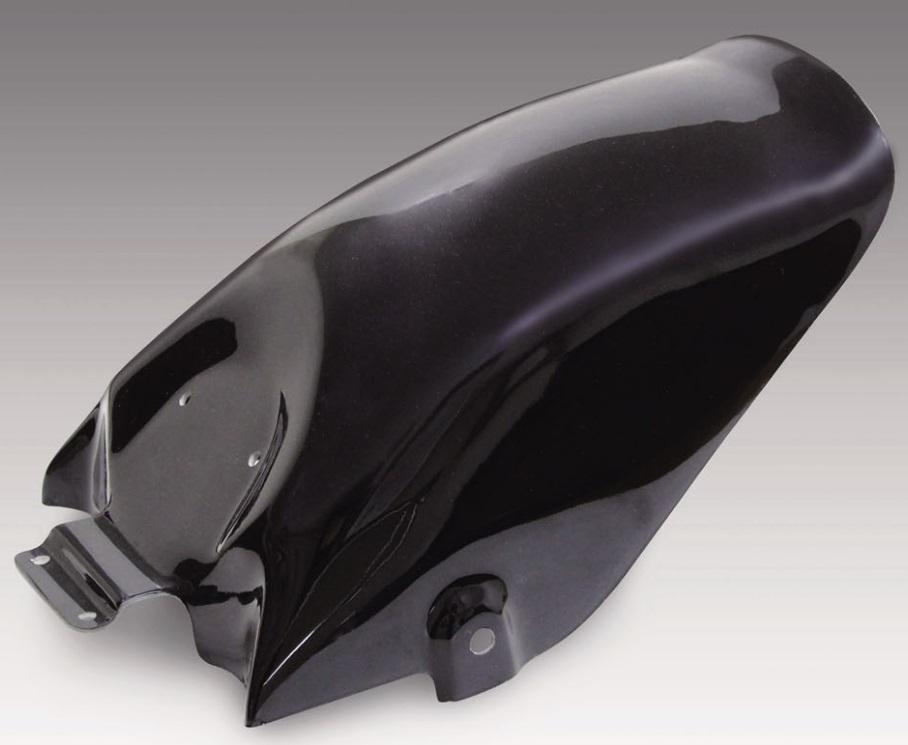 BOLT(ボルト) FPR製リアフェンダー ショートタイプ 黒ゲル KIJIMA(キジマ)