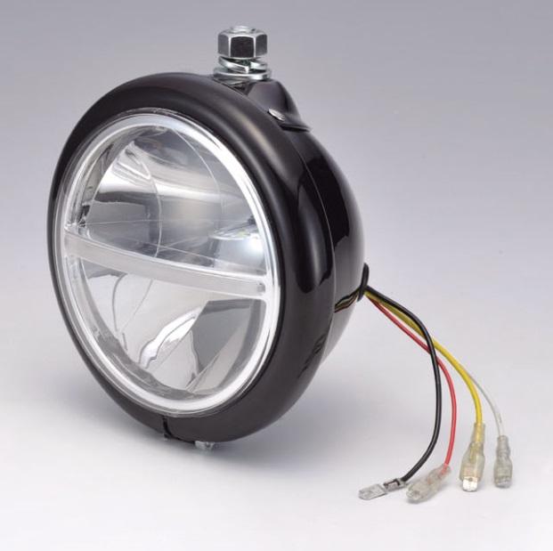 LEDヘッドライト ベーツハンガーマウント ブラック KIJIMA(キジマ)