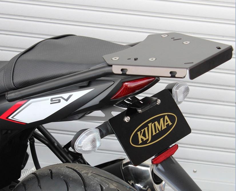 SV650 ABS(16年) リアキャリア ブラック KIJIMA(キジマ)