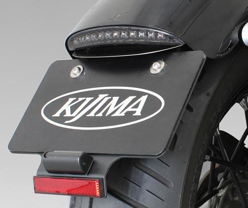 スポーツスター XL1200X/V・XL883N ライセンスブラケットキット XL1200X/V LEDスリムテール対応 KIJIMA(キジマ)
