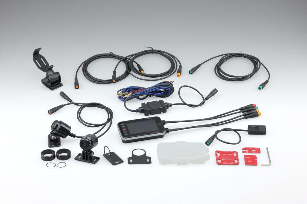 【あす楽対象】ドライブレコーダー デュアルカメラ 1080J FHD×FHD KIJIMA(キジマ)