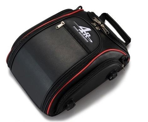 4R 定価 Rhythmストリームラインシートバッグ 9L ブラック KIJIMA キジマ レッド 上等