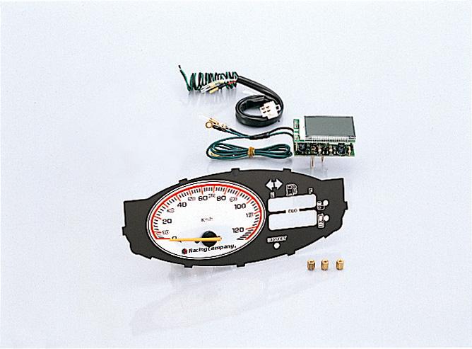 スマートディオ(Dio)AF56・AF57・AF63 スピードメーター 120km/hノーマルメーターケース用 KITACO(キタコ)