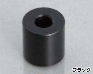 アルミスペーサーカラー ブラック Φ6用 大規模セール お金を節約 1 ヶ入 KITACO キタコ