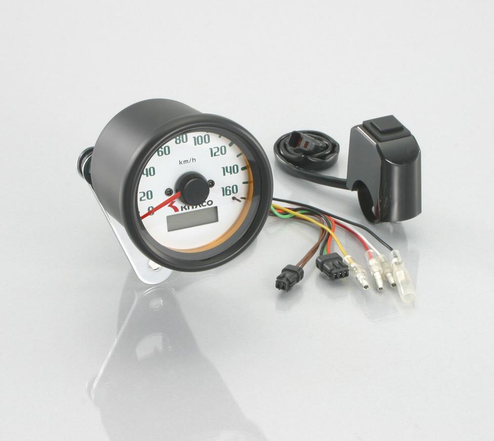 電気式スピードメーター Φ60(160km表示) KITACO(キタコ)