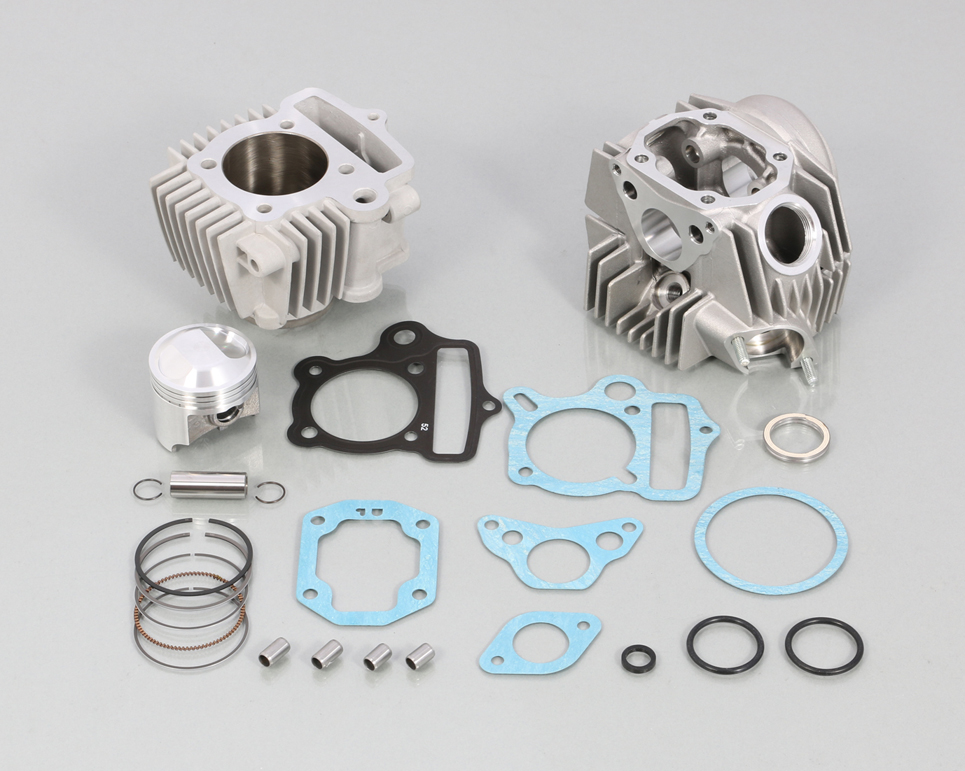 ダックス(DAX) ST50 6V 88cc スタンダードボアアップKIT タイプ2 アルミシリンダー(硬質メッキ) KITACO(キタコ)