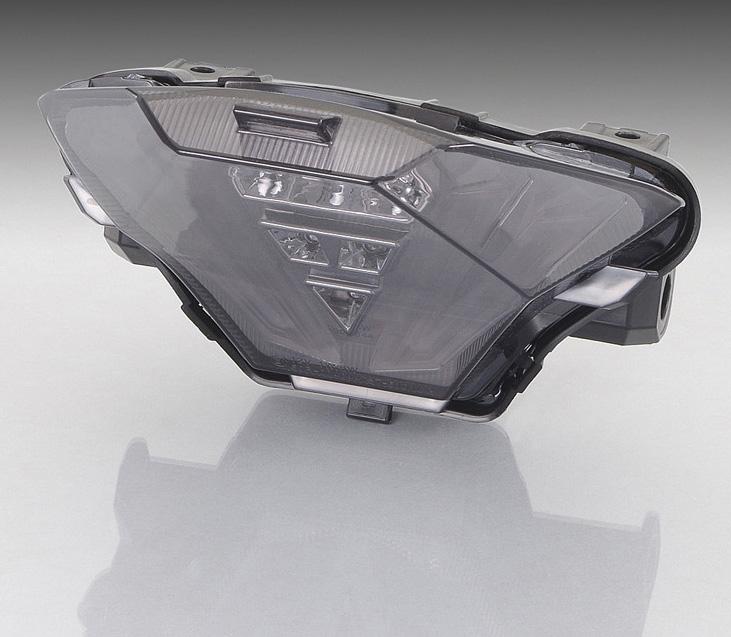 YZF-R3(BO2) LEDテールランプセット スモーク KITACO(キタコ)