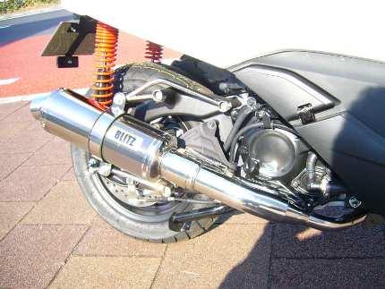 フォルツァSi MF12(FORZA) BLITZ マフラーS ステンレス JMCA認定 コタニモータース(KOTANI MOTORS)