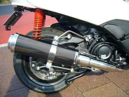 フォルツァSi MF12(FORZA) BLITZ マフラー ブラックメタル JMCA認定 コタニモータース(KOTANI MOTORS)
