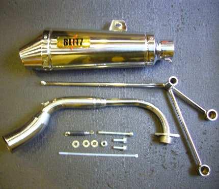 ビーウィズ(BWS)SA44J BLITZマフラー M3 コタニモータース(KOTANI MOTORS)