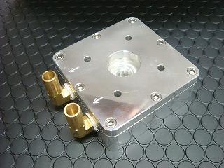 リード90系エンジン 汎用水冷ヘッド 燃焼室ゼロ KN企画