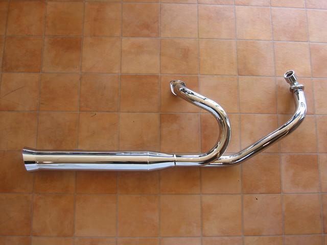 ドラッグスター400/クラシック キャブ車 スタンダードフレアカット2in1マフラー95Φ KENTEC(ケンテック)