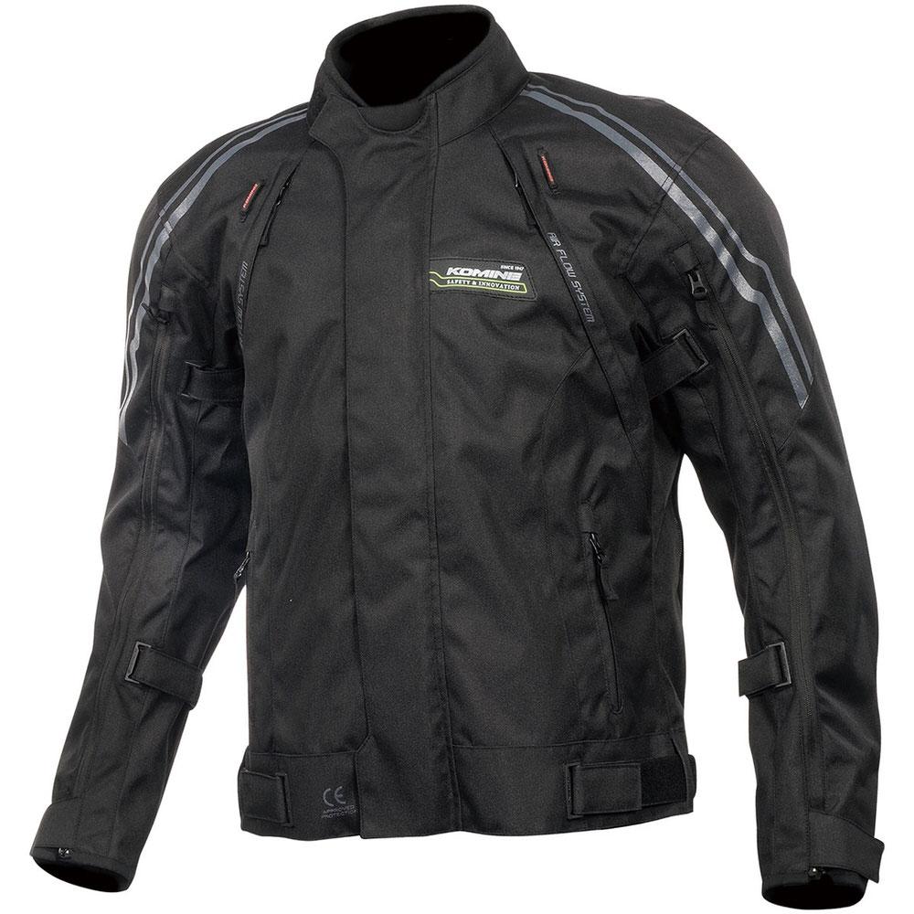 JK-599 フルイヤーシステムジャケット ブラック 4XLサイズ コミネ(KOMINE)