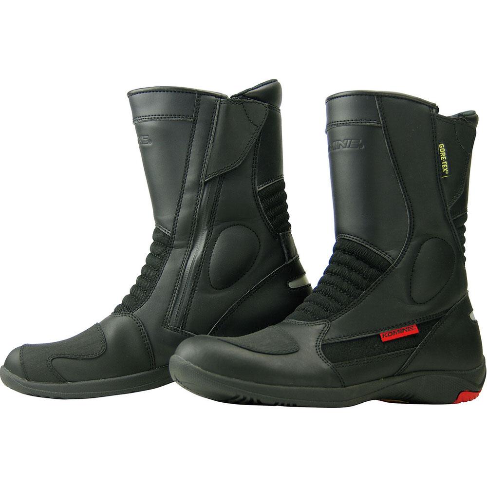 BK-070 GORE-TEX ショートブーツ-グランデ ブラック サイズ24.5cm コミネ(KOMINE)