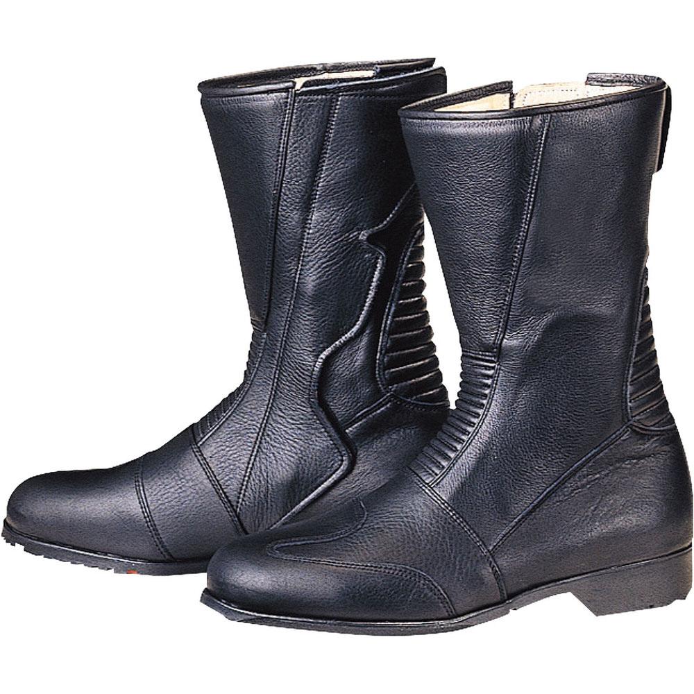 05-110 スパジオ 520ブーツ ブラック サイズ24.5cm コミネ(KOMINE)