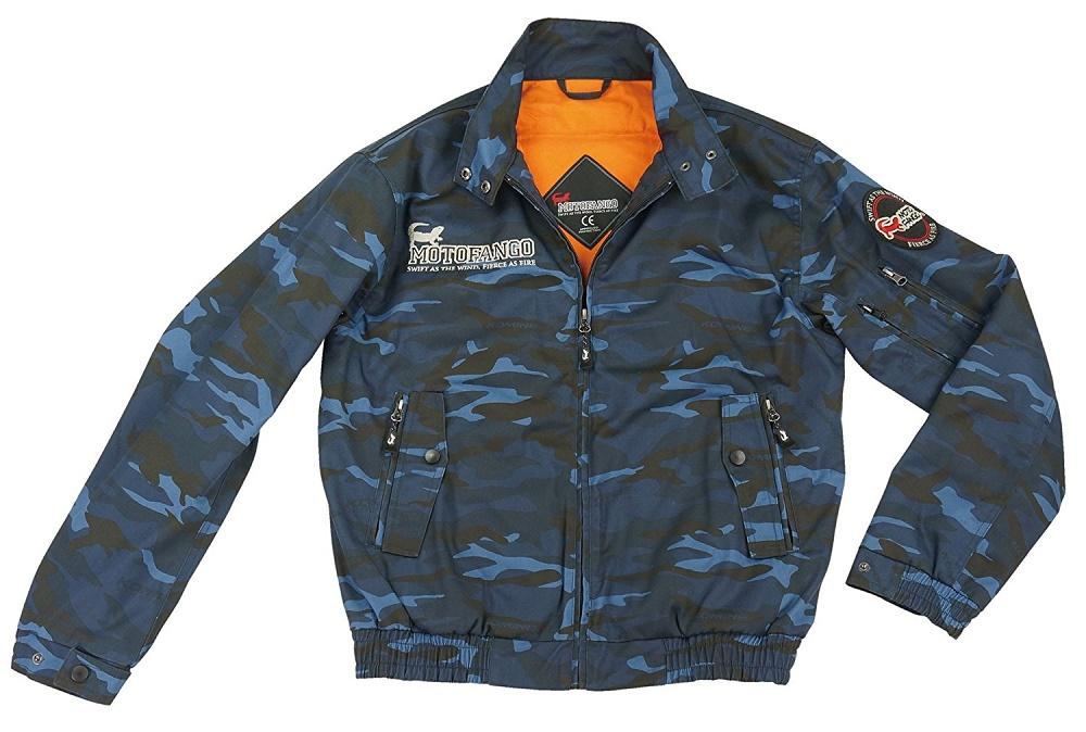 JK-591 07-591 プロテクトスイングトップジャケット ブルーカモ Lサイズ コミネ(KOMINE)