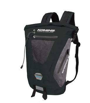 09-236 SA-236 ウォータープルーフバックパック20 ブラックグレイ FREEサイズ コミネ(KOMINE)