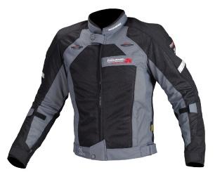JJ-002 00-002 エアストリームメッシュジャケット ブラック 3XLサイズ コミネ(KOMINE)