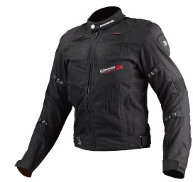 送料無料 JJ-003 00-003 即出荷 ツアラーメッシュジャケット 高価値 ブラック WMサイズ コミネ KOMINE