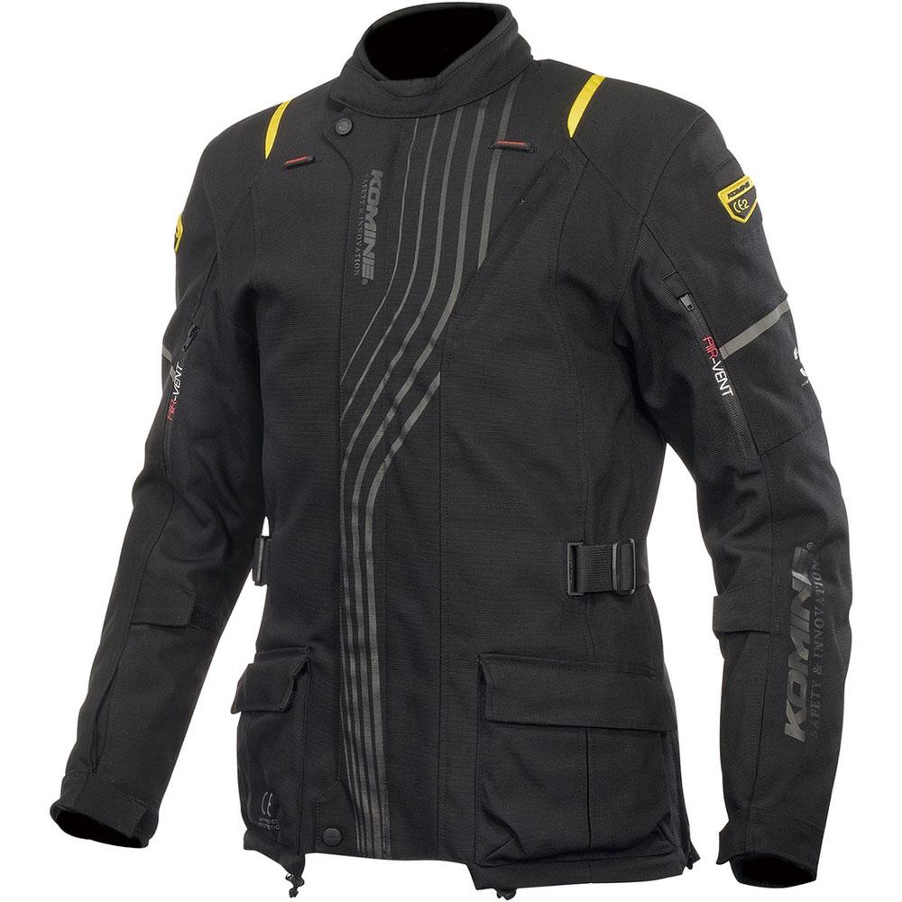 JK-605 スプリームプロテクトウインタージャケット ブラック Lサイズ コミネ(KOMINE)