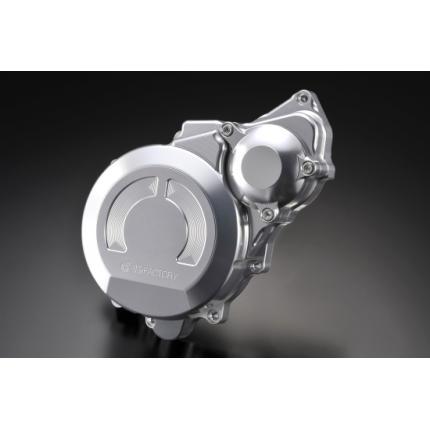 クランクエンドカバーL シルバー CB1300SF(~02年)、(03~11年) K-FACTORY(ケイファクトリー)