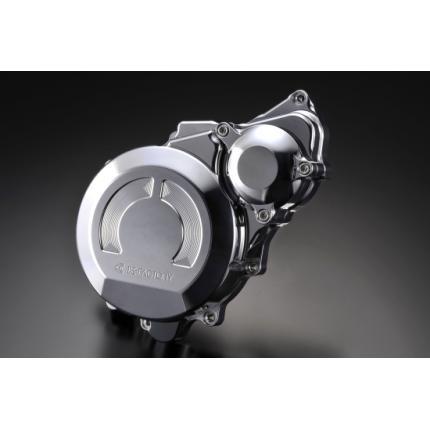 クランクエンドカバーL ポリッシュ CB1300SB(06~11年) K-FACTORY(ケイファクトリー)