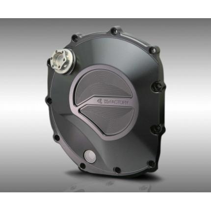 クラッチカバー スーパーブラック CB1300SF(~09年) K-FACTORY(ケイファクトリー)