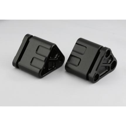 ダウンチューブ フロント補強ハンガーAキット ZRXセット ブラック GPZ900R(A7) K-FACTORY(ケイファクトリー)