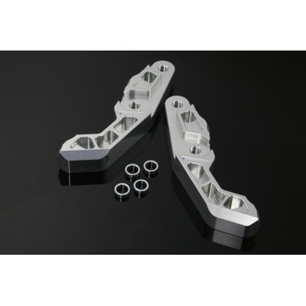 フロントラジアルキャリパーサポート メタリックシルバー GPZ900R(A7) K-FACTORY(ケイファクトリー)