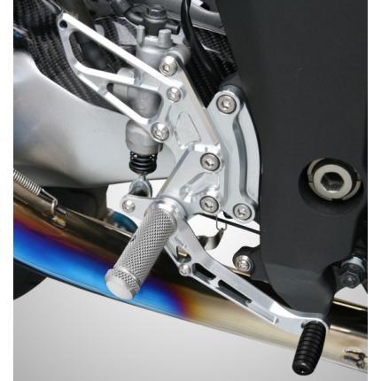 ライディングステップ スーパーブラック Z1000(10年~) K-FACTORY(ケイファクトリー)