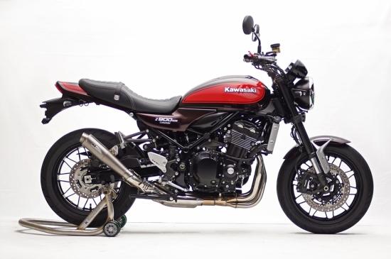 Z900RS (18年) STPスリップオン/MotoGP テーパーサイレンサー JMCA認証 K-FACTORY(ケイファクトリー)