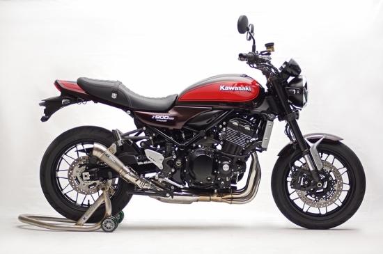 Z900RS (18年) STPスリップオン/MotoGP ショートテーパーサイレンサー JMCA認証 K-FACTORY(ケイファクトリー)