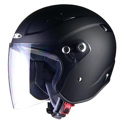 X-AIR RAZZO3 ジェットヘルメット マットブラック L(59~60cm未満) リード工業