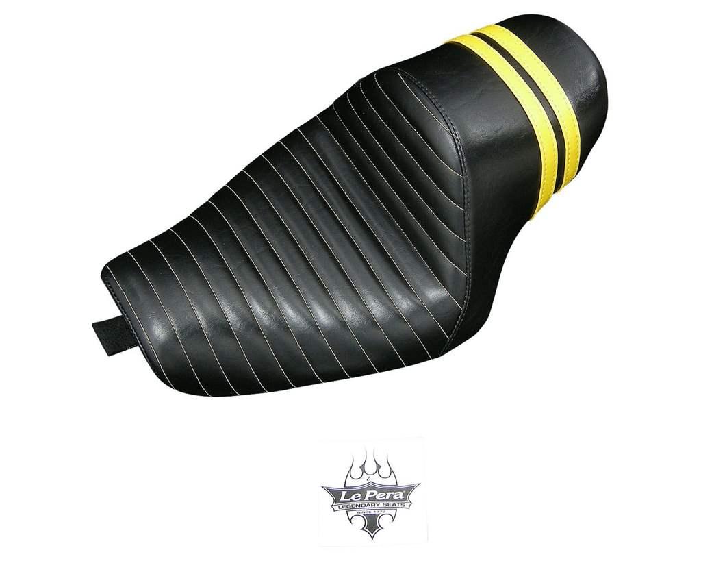 XL1200X/XL1200V 011522 スタブススポイラーソロシートイエロー LePera(ラペラ)