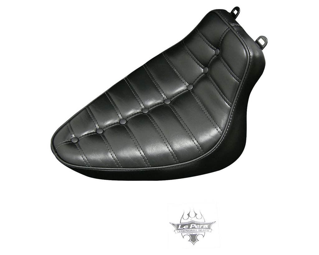 ソフテイル(08~17年) 008861 コブラボタンプレーテッドシート(150タイヤ装着車) LePera(ラペラ)
