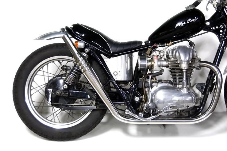 W400 69トランペット フルエキゾースト HIGH MOTORROCK(モーターロック)