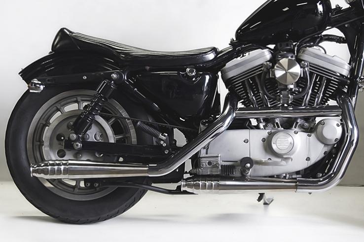 スポーツスターXL(95~03年) 69メガホン スリップオンマフラー MOTORROCK(モーターロック)